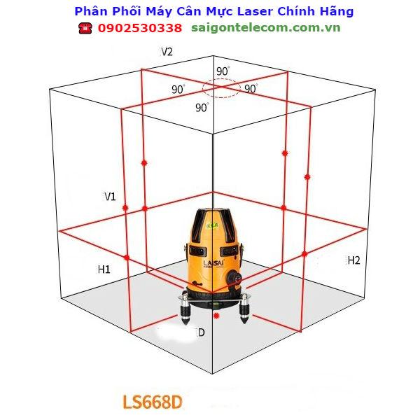 Máy Cân Bằng Laser Laisai LS 668D
